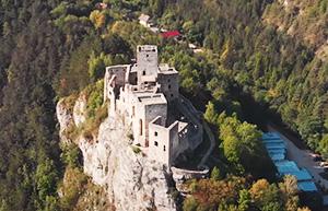 Kolobežky Strečno hrad